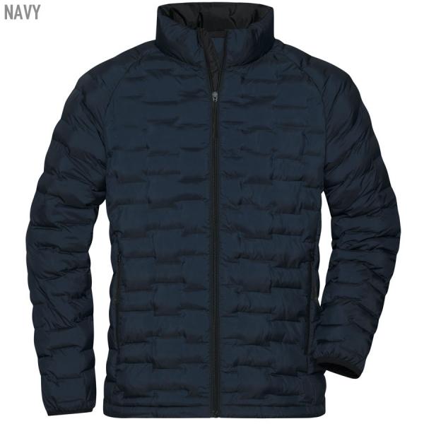 James & Nicholson Men's Modern Padded Jacket