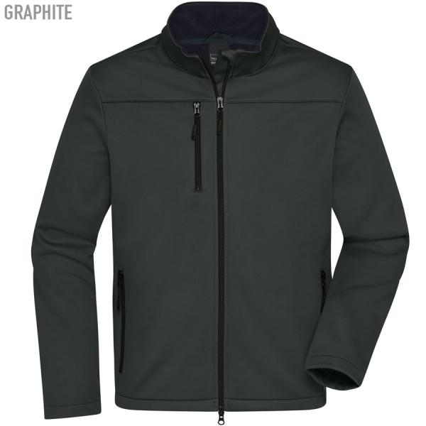James & Nicholson Men's Softshell Jacket