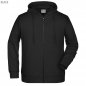Mobile Preview: James & Nicholson Herren Hoody-Jacke