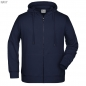 Preview: James & Nicholson Herren Hoody-Jacke