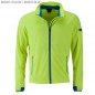 Preview: James & Nicholson Men's Sports Softshell Jacket