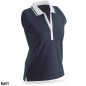 Preview: James & Nicholson Ladies' Elastic Polo Sleeveless