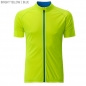 Preview: James & Nicholson Men's Bike-T Full Zip