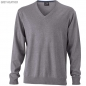Preview: James & Nicholson Herren V-Pullover