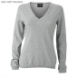 Preview: James & Nicholson Damen Seide-Kaschmir Pullover