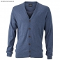 Preview: James & Nicholson Herren Seide-Kaschmir Cardigan