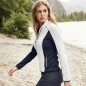 Mobile Preview: James & Nicholson Damen Stretch-Fleece-Jacke