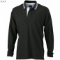 Preview: James & Nicholson Men's Polo Long-Sleeved