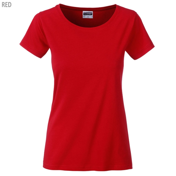 James & Nicholson Damen Basic T-Shirt