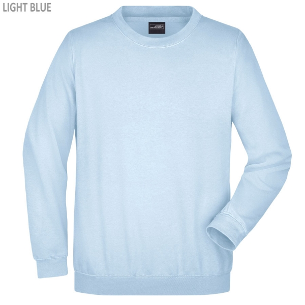 James & Nicholson Komfortables Herren Sweatshirt