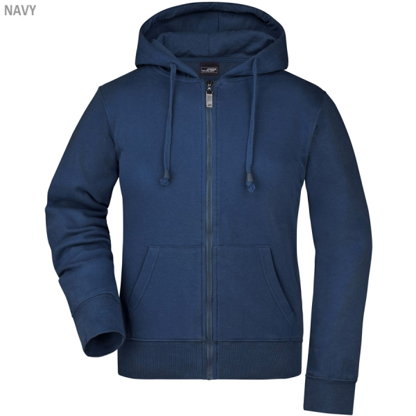James & Nicholson Ladies´Hooded Jacket