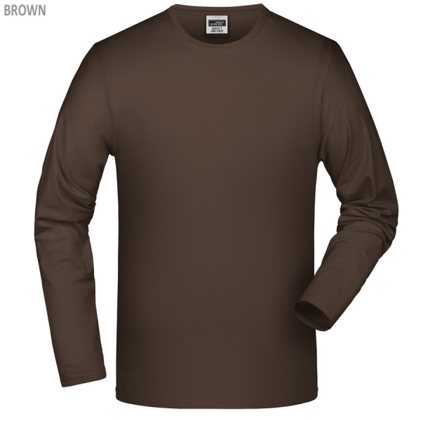 James & Nicholson Elastic-T Long-Sleeved