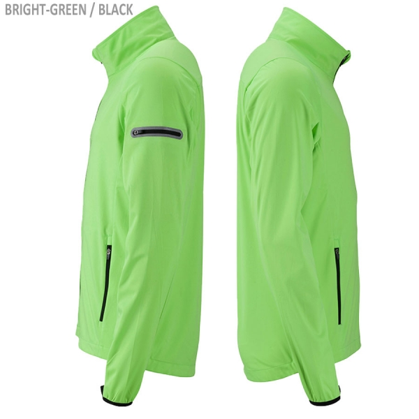 James & Nicholson Men's Sports Softshell Jacket