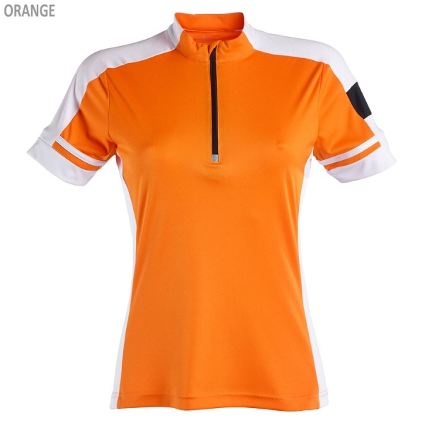 James & Nicholson Ladies' Bike-T Half Zip