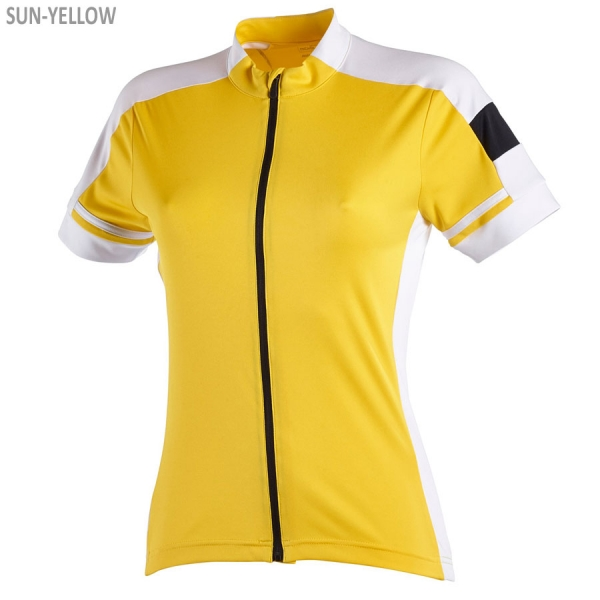 James & Nicholson Ladies' Bike-T Full Zip