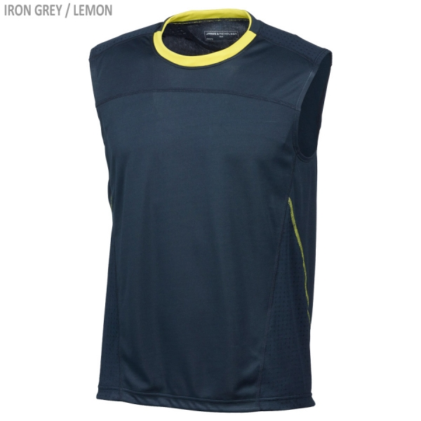 James & Nicholson Men's Running Tank