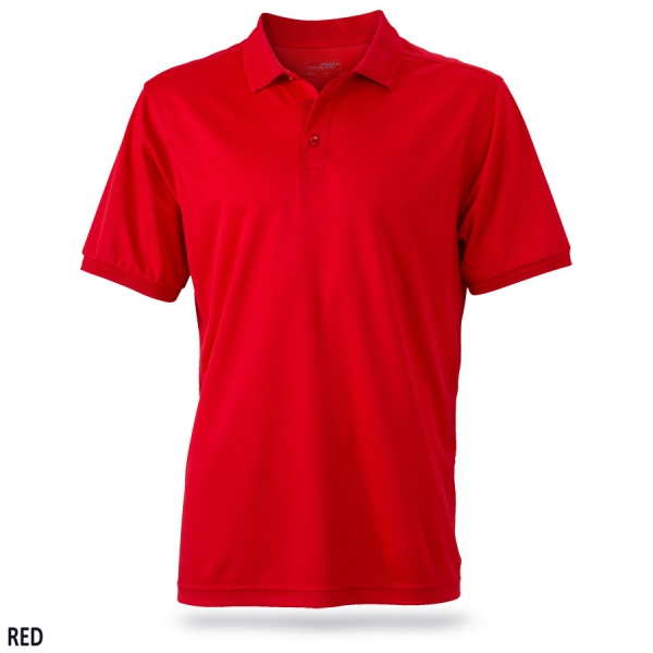 James & Nicholson Men's Active Polo