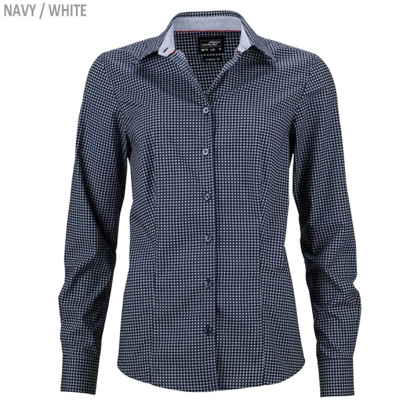 "James & Nicholson Damen Bluse ""Dots"""