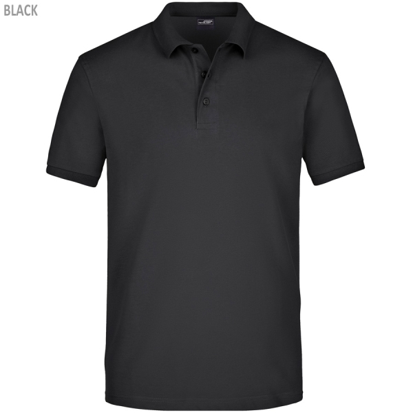 James & Nicholson Men's Elastic Polo Piqué