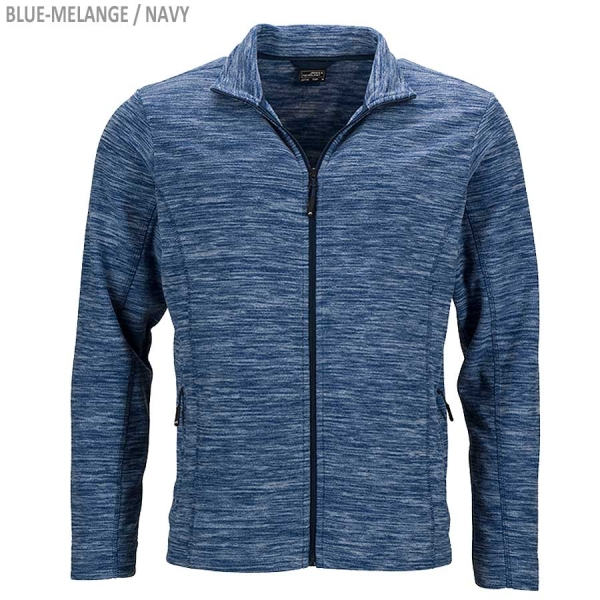James & Nicholson Herren Fleece Jacke