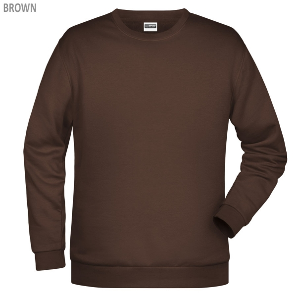James & Nicholson Herren Basic Sweatshirt
