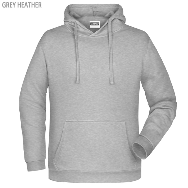 James & Nicholson Herren Basic Hoody