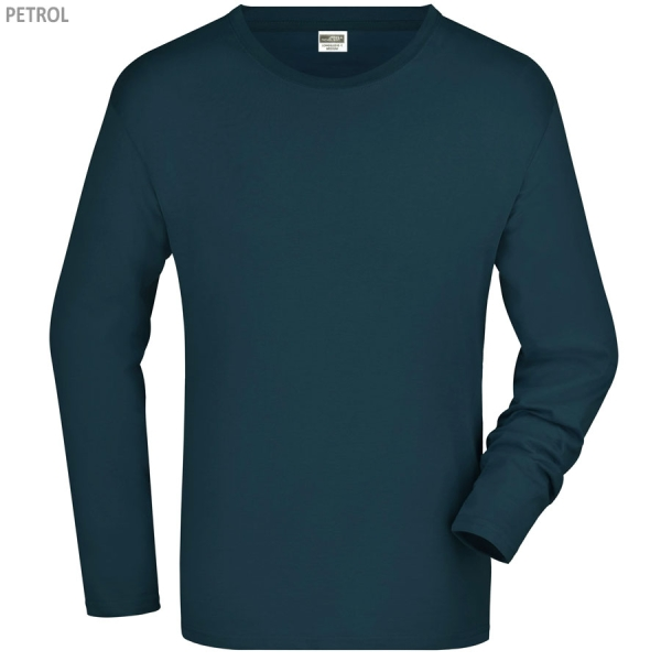 James & Nicholson Men's Long-Sleeved
