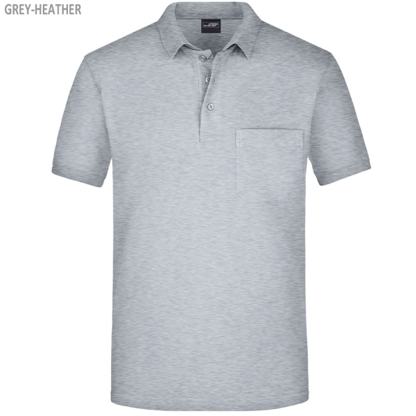 James & Nicholson Herren Polo Poket