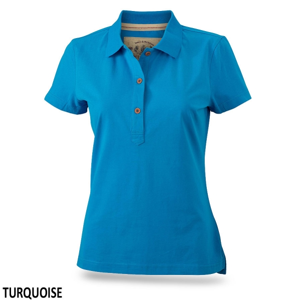 James & Nicholson Ladies' Vintage Polo