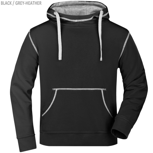James & Nicholson Men´s Lifestyle Hoody