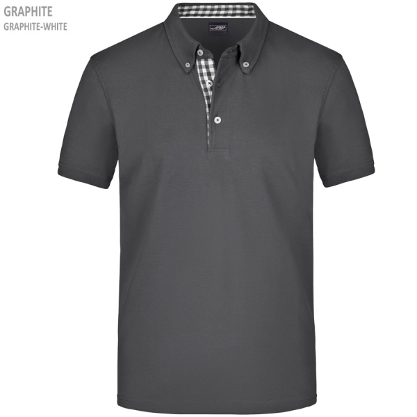 James & Nicholson Men's Plain Polo
