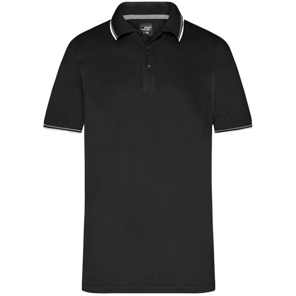 James & Nicholson Men's coldblack® Polo