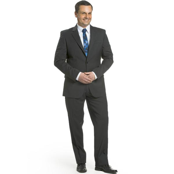 Herren-Anzug Slim Fit - anthrazit