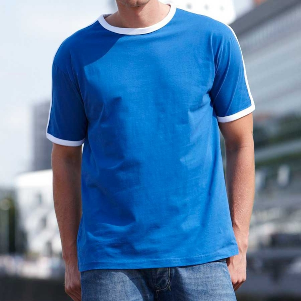 James & Nicholson Men's Flag-T