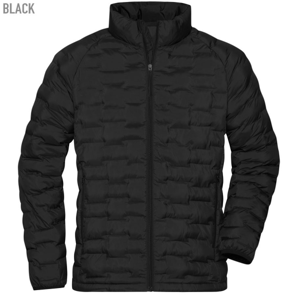 James & Nicholson Men's Modern Padded Jacket
