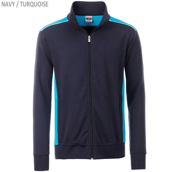 COLOR Workwear Herren Sweat Jacke
