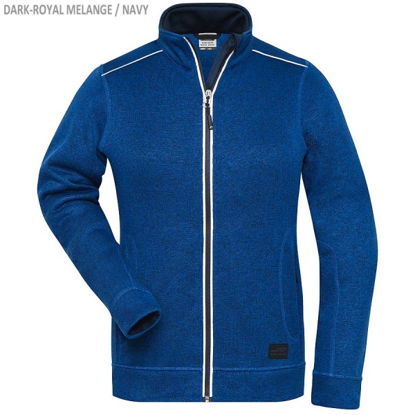 SOLID Workwear Damen Strick Fleece Jacke