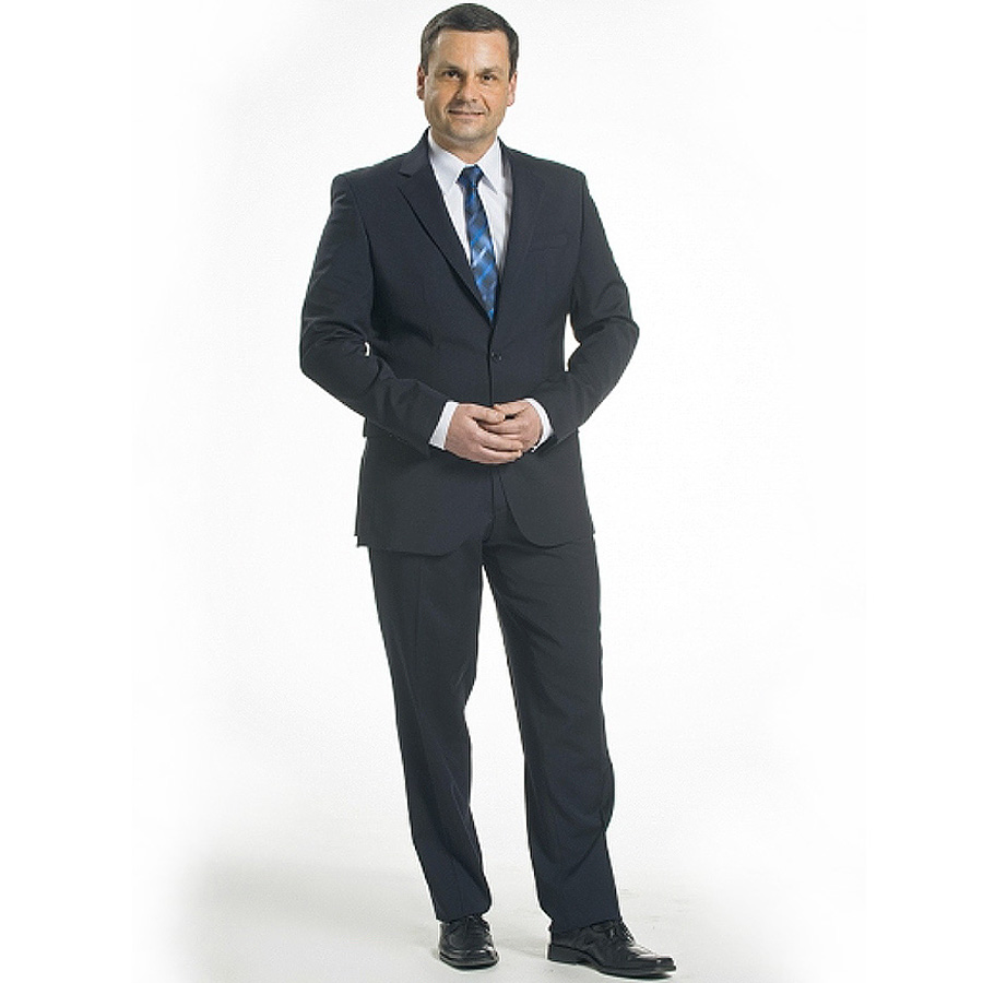 designer fashion c45b5 0936e Herren-Anzug Sakko Slim Fit - marine