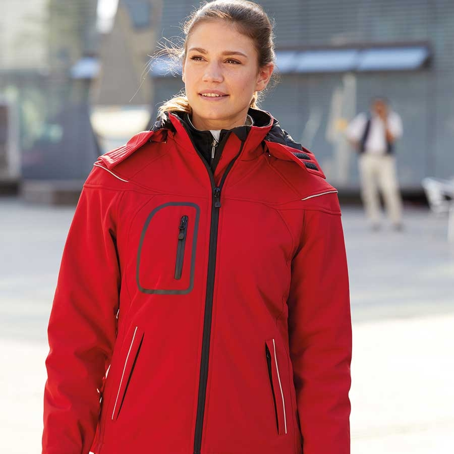 James & Nicholson Damen Winter-Softshelljacke