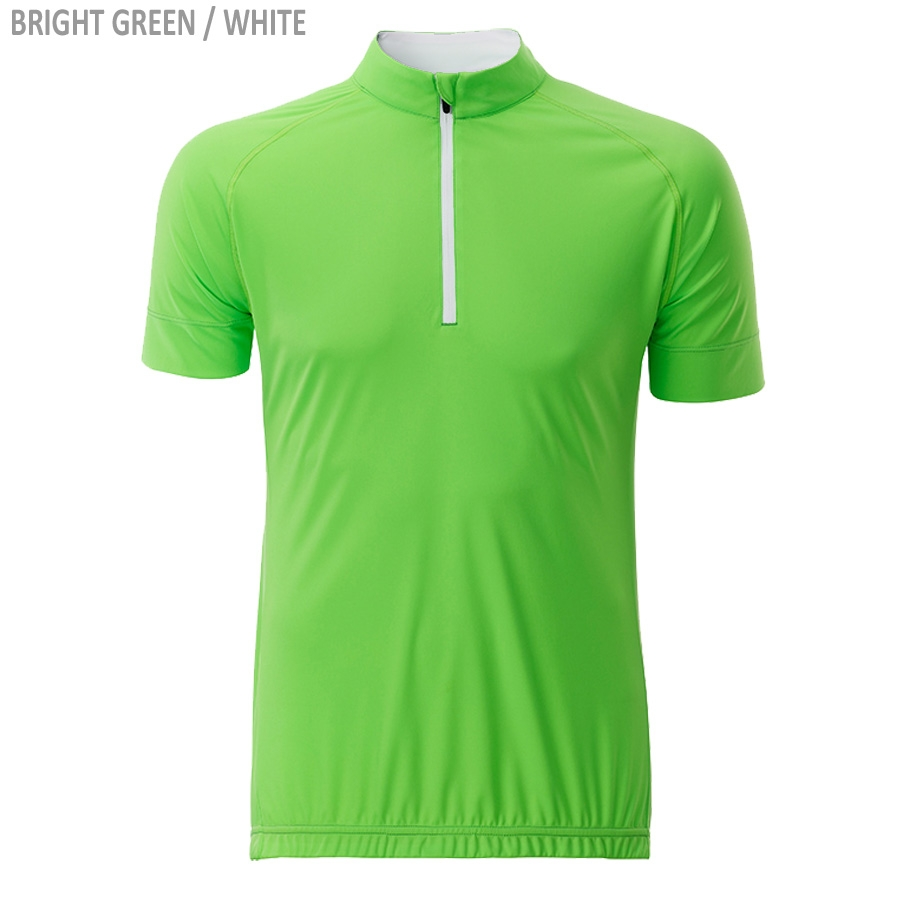 James & Nicholson Men's Bike-T Half Zip