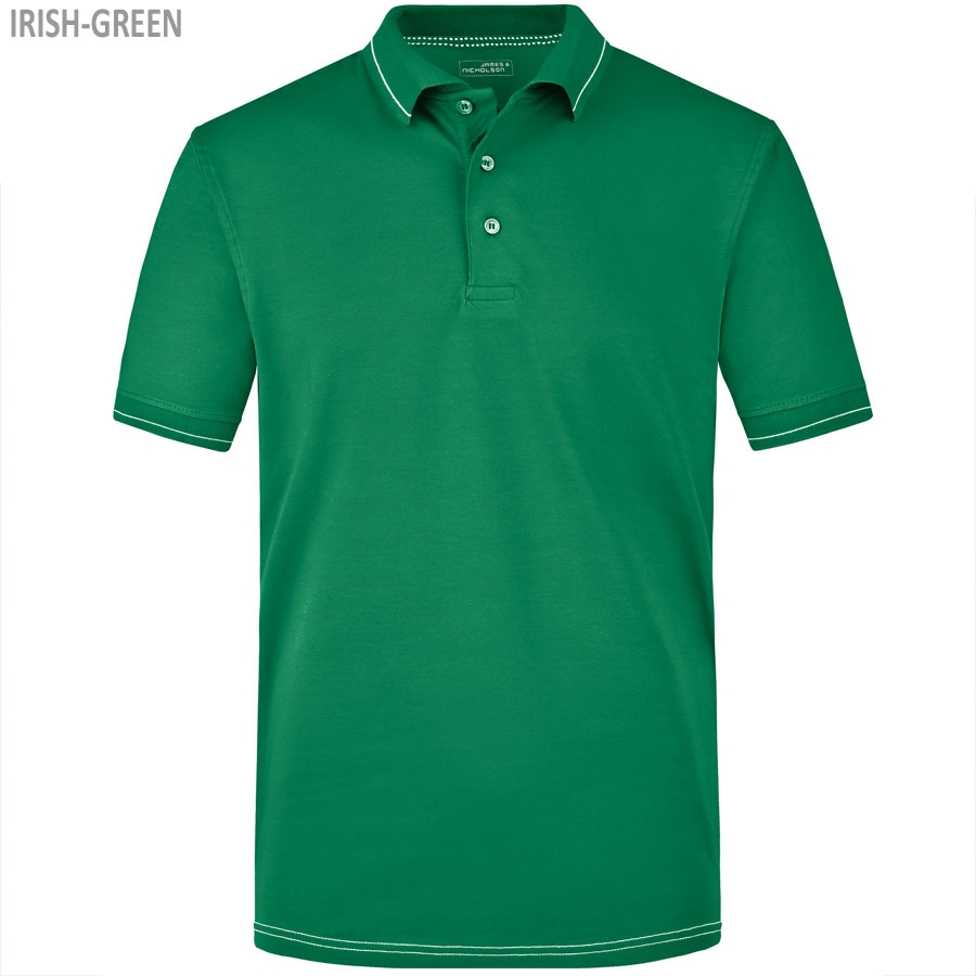 James & Nicholson Men's Elastic Polo
