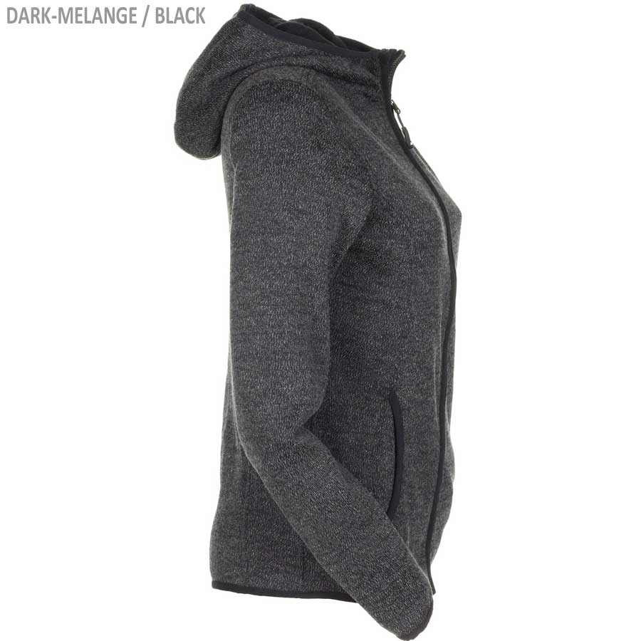 James & Nicholson Ladies' Knitted Fleece Hoody