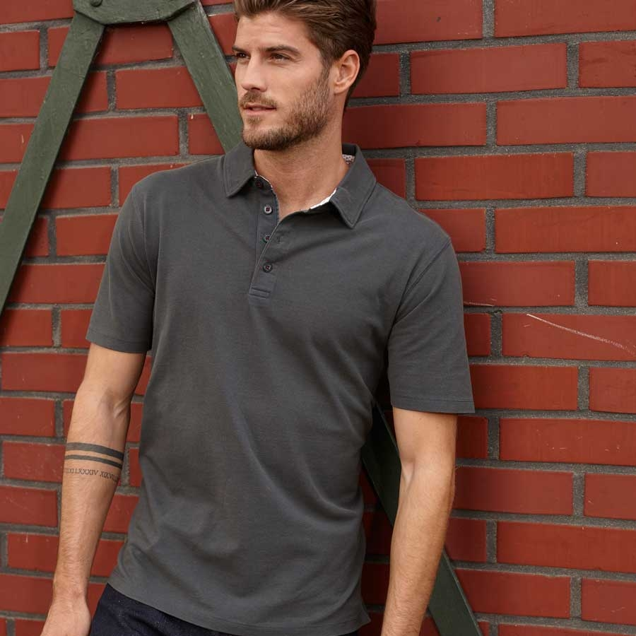 James & Nicholson Men's Polo