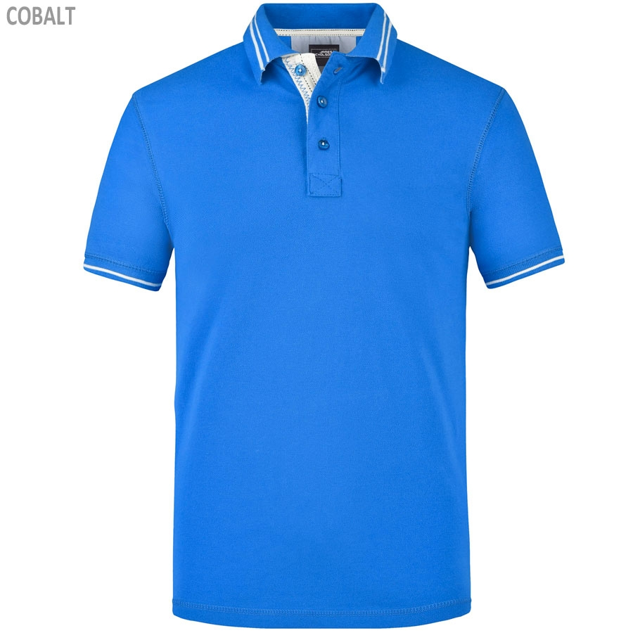 James & Nicholson Men's Lifestyle Polo