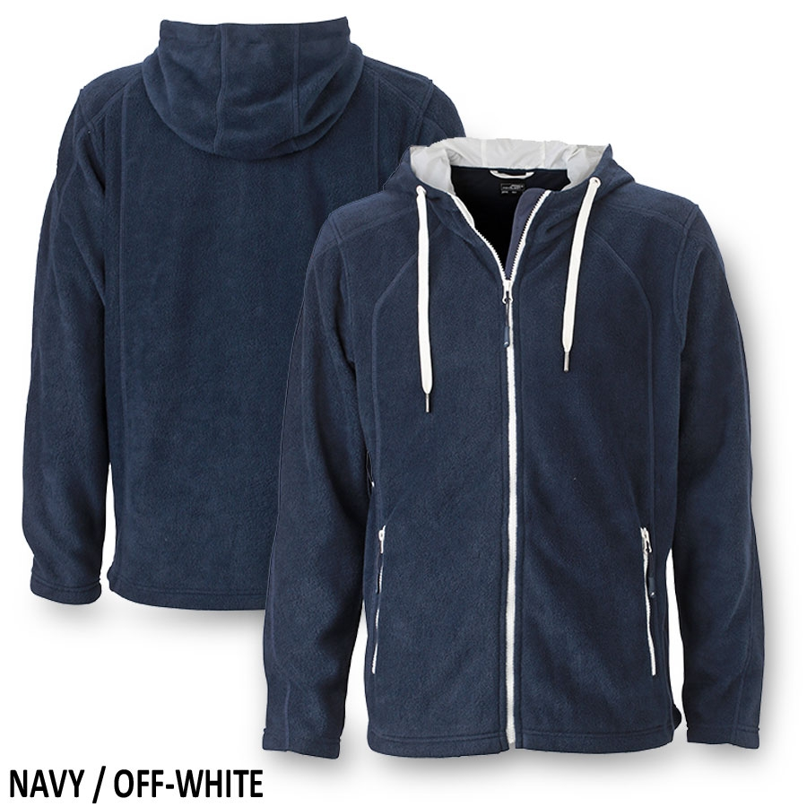 James & Nicholson - Men's Fleece Hoody
