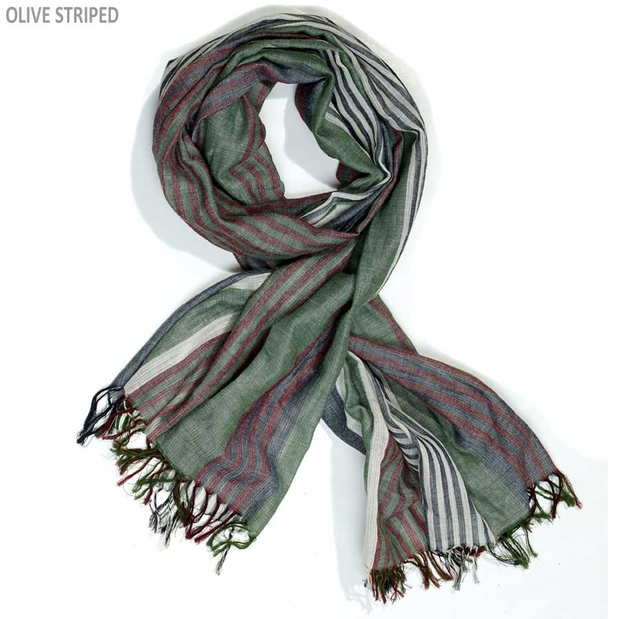 myrtle beach Striped Scarf