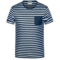 James & Nicholson Herren T-Shirt gestreift