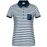James & Nicholson Damen Polo-Shirt gestreift