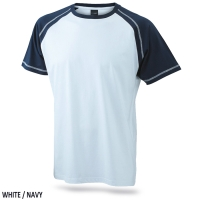 James & Nicholson Men's Raglan-T