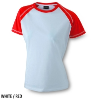 James & Nicholson  Ladies' Raglan-T